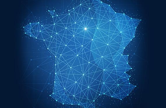 carte réseau france